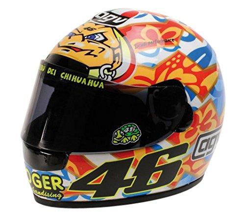Minichamps 327010076 - 1:2 2001 AGV Helmet Valentino Rossi, Mugello