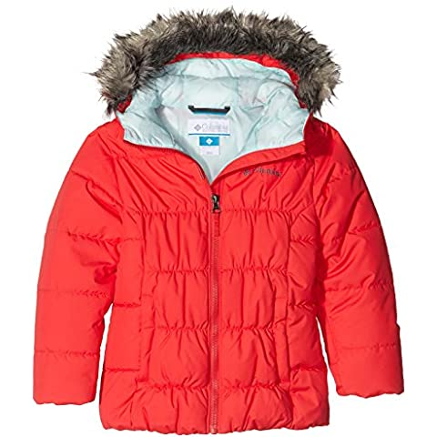Columbia Gyroslope–Cazadora de esquí para niña RED camelia fr: XL (talla fabricante: XL)