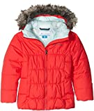Columbia Gyroslope Jacket - Blouson de Ski - Manches longues - Fille - Rouge (Red Camelia) - Taille: S