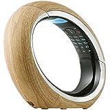 AEG Eclipse - Teléfono fijo analógico (inalámbrico, pantalla LCD), marrón