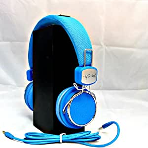 Freeze Limited Edition I-kool Freeze Series Foldable Headphone with Swivel Function Fully Foldable Headphones, Best Laptop Headphones (Blue)
