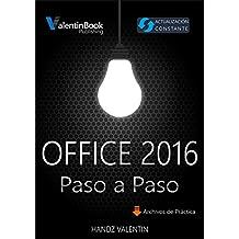 Office 2016 Paso a Paso: Actualización Constante (MOBI + EPUB + PDF)