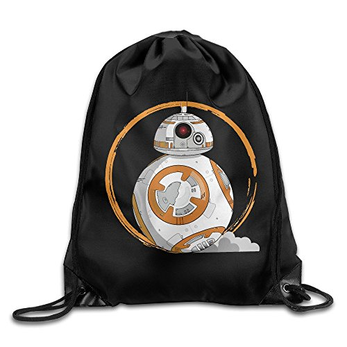 ot Hero BB-8 Sport Backpack Drawstring Print Bag ()