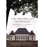 Telecharger Livres Law Ideology and Collegiality Judicial Behaviour in the Supreme Court of Canada Author Donald R Songer Jun 2012 (PDF,EPUB,MOBI) gratuits en Francaise