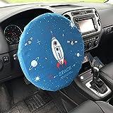 Comaie® coprivolante parasole auto Cartoon double layer pieghevole della parte auto Tour set a doppio strato
