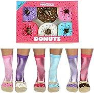 Donuts 6 verschillende dames sokken maat 37 - 42