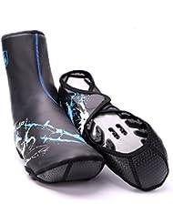 LJ Sport Serrure à chaussures Coque étanche chaud antidérapant Antifouling Bande réfléchissante à chaussures Coque
