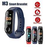 Smart-Armband Fitness Activity Tracker Blutdruck Herzfrequenz Monitor Sport Laufen Schlaf Tracking Wasserdicht Schrittzähler mit Bluetooth 4.0 Für Frauen Herren Kinder Android Telefon iPhone Samsung