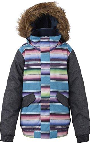 Burton Kinder Snowboard Jacke Twist Bomber Jacket Girls