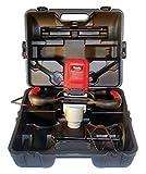 Cevik M1280N Mezclador con Maleta Especial Pintura, 1200 W, 230 V, Negro