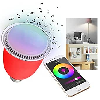 Iegeek ® Smart LED-Lampe, 5 W, WiFi, Bluetooth