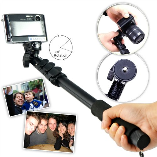 first2savvv-zp-188a01-black-self-portrait-extendable-telescopic-handheld-pole-arm-monopod-camcorder-