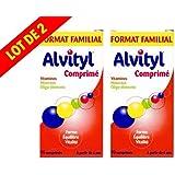 alvityl - vitamines - minéraux - oligo-élements - - boite de 90 comprimés - lot de 2 boites