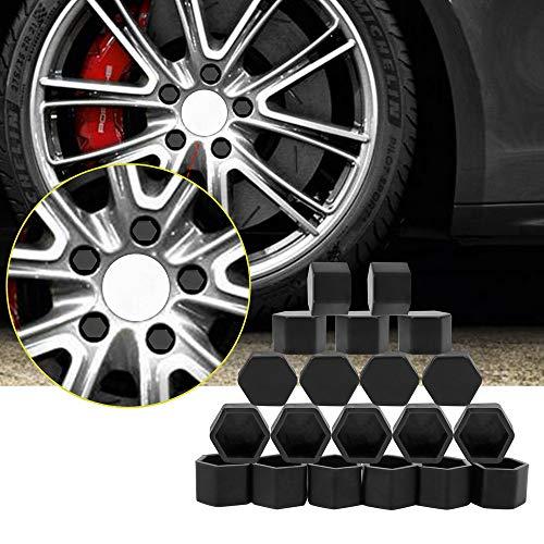 LSLMLLL 20 Stücke Silikon Auto Radnabe Schraube Ventilkappen Abdeckungen Für Alfa Romeo 159, für BMW E46 E39 E36 E90 E87 M3 M4, für Audi A3 A6 C5 A4 B6 B8