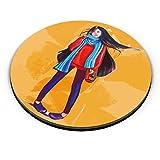PosterGuy Fridge Magnet - A Winter Girl   Designed by: Scintilla