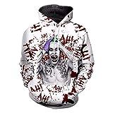 ZWZH Men es Hoodie Fashion Suicide Squad Joker Hoodie Men Women Long Sleeve Outerwear Print 3D Sweatshirt Crewneck Casual Pullover,XXXXL