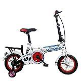Great St. DGF Kinder Faltrad 16 Zoll Mini Faltrad Männlichen und Weiblichen Studenten (Farbe : Red)