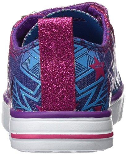 Skechers Twinkle Breeze Comet Cutie, Baskets Basses Fille Multicolore (Dmlt)