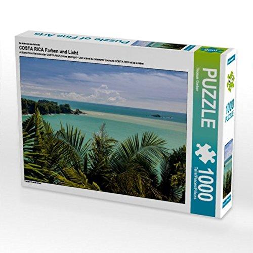 Ein Motiv aus dem Kalender COSTA RICA Farben und Licht 1000 Teile Puzzle quer (CALVENDO Natur)