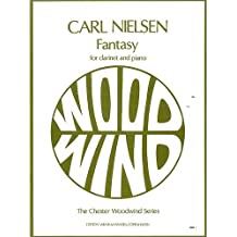 Carl Nielsen: Fantasy (C. 1881). Partitions pour Clarinette, Accompagnement Piano