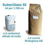ARTIMESTIERI - IT- SUBERGLASS - Massetto termoisolante di sughero granulare e silicato di sodio - SUBERGLASS 90