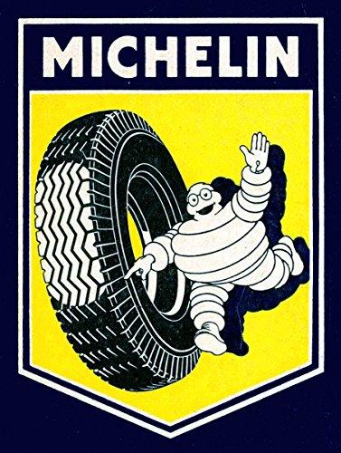 Michelin nostalgisches Metall Blech Wandschild Schild Neuheit Geschenk Werbung zum Sammeln (2751)