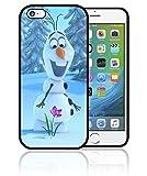 Fifrelin Coque Etui Housse Bumper Apple iPhone Olaf La Reine des Neiges Frozen Disney