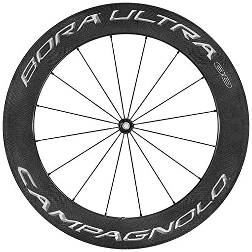 Campagnolo Bora ultra 80Dark tubolare ruota anteriore Shimano pastiglie freno (Special Order)