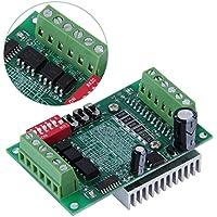Green 6N137 Acoplamiento óptico de alta velocidad DC 10-35V TB6560 3A Driver Board Router CNC Individual 1 Ejes Controlador Stepper Motor Drivers