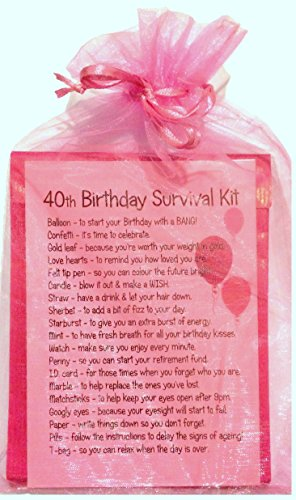 440th Birthday Survival Kit Pink
