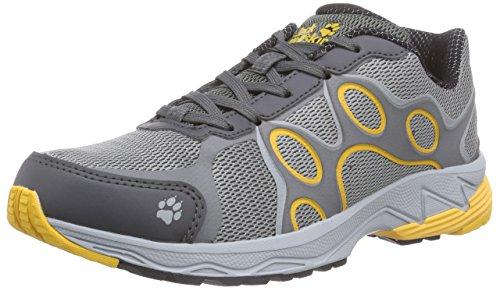 Jack Wolfskin VENTURE TRAIL M Herren Outdoor Fitnessschuhe Grau (burly yellow 3801)