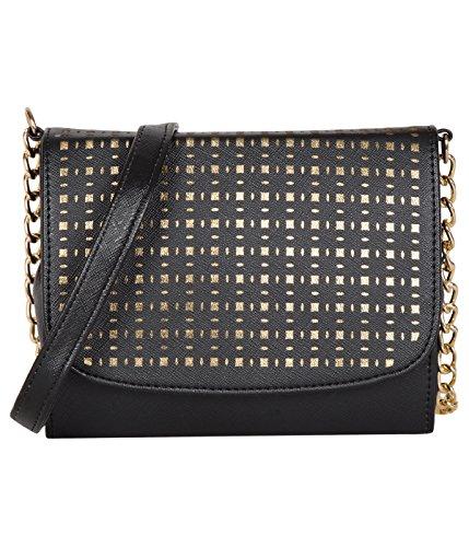 ADISA SL5010 black women / girls party sling bag
