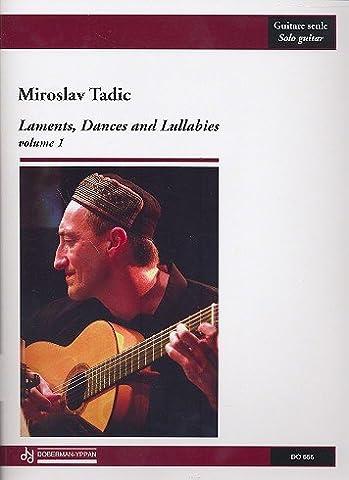 Laments, Dances And Lullabies 1 - Guitar - Buch