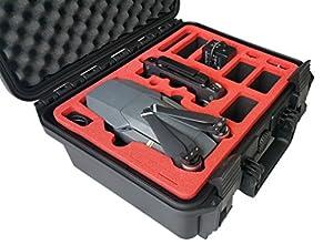 Valise professionnelle pour le DJI Mavic Pro avec beaucoup d'espace pour un total de 3 batteries, de nombreux accessoires - de MC-Cases (Édition 2.0 Compacte (more batteries))
