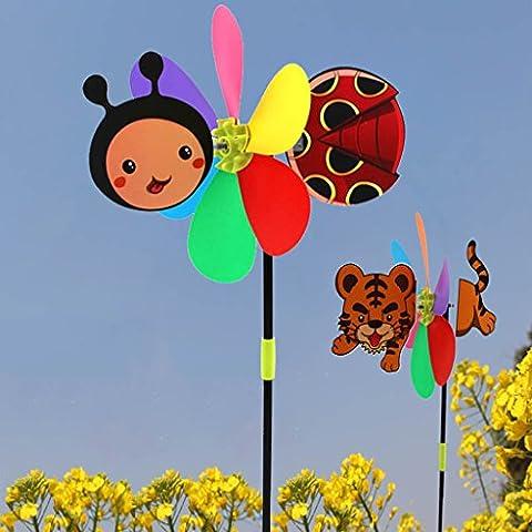 Dairyshop coloré Dessin animé Animal Moulin à vent Home Garden