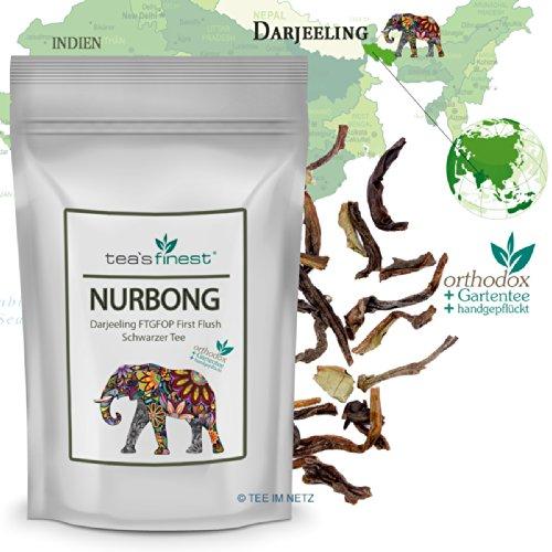 Schwarzer Tee Darjeeling Nurbong FTGFOP First Flush (500 Gramm)
