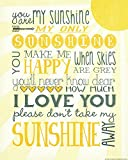 Heritage 1093 You Are My Sunshine Wall D...