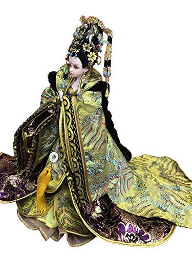 IIWOJ Halloween Weihnachtsgeschenk Chinese Kostüm Puppen Zwölf Gelenke Wu Zetian Kaiserin Exquisite Handwerk