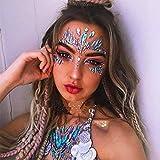 Treasure-House Acrylharz Drill Stick Bindi Aufkleber Handverlesene Böhmen und Tribal Style Gesicht und Auge Juwelen Stirn Bühnenbild Aufkleber