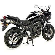 Escape LeoVince LV One 8283, Slip-on Juego de evo2 Acero Inoxidable para Yamaha FZ6 FAZER ABS rj148 | Yamaha FZ6 N rj145 | Yamaha FZ6 N ABS RJ14 | Yamaha ...