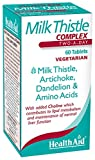HealthAid Milk Thistle Complex 60 Tablets Vegetarian from HealthAid