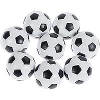 Goldge Tischfußball Kickerbälle, Mini Kickertisch Fußballtisch Kicker
