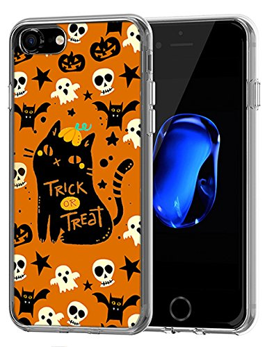 Lovely stoßfest Fall für Apple iPhone 7 (2016)/iPhone 8 (2017) Happy Halloween Serie, Design-8