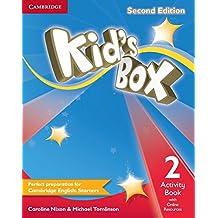 Kid's box. Activity book. Per la Scuola elementare: Kid's Box Level 2 Activity Book with Online Resources Second Edition - 9781107671614