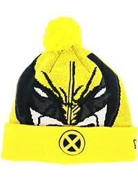 New Era Woven Wolverine Beanie Wollmütze Mütze Marvel Universe