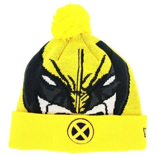 New Era Herren Accessoires / Wintermütze Character Woven Biggie X-Men gelb Einheitsgröße Dc Beanie Woven