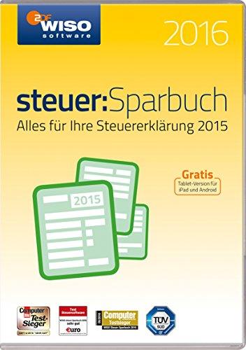 WISO steuer:Sparbuch 2016 (für Steuerjahr 2015 / Frustfreie Verpackung)