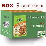 EnerZONA Frollini 250 Gram Nocciola Box 9 Buste