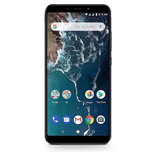 Xiaomi Mi A2 Dual Sim Smartphone from 6 GB RAM and 128 GB ROM, Black [Italy]
