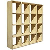Huiseneu Accent legno scaffali libreria autoportante per ...